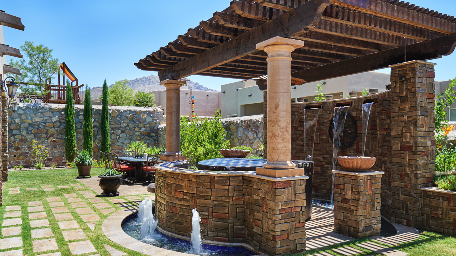 Go designs el paso landscaping design architecture for Pool design el paso tx