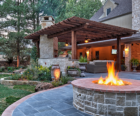 GO Designs landscape services impart cohesive use of every element.